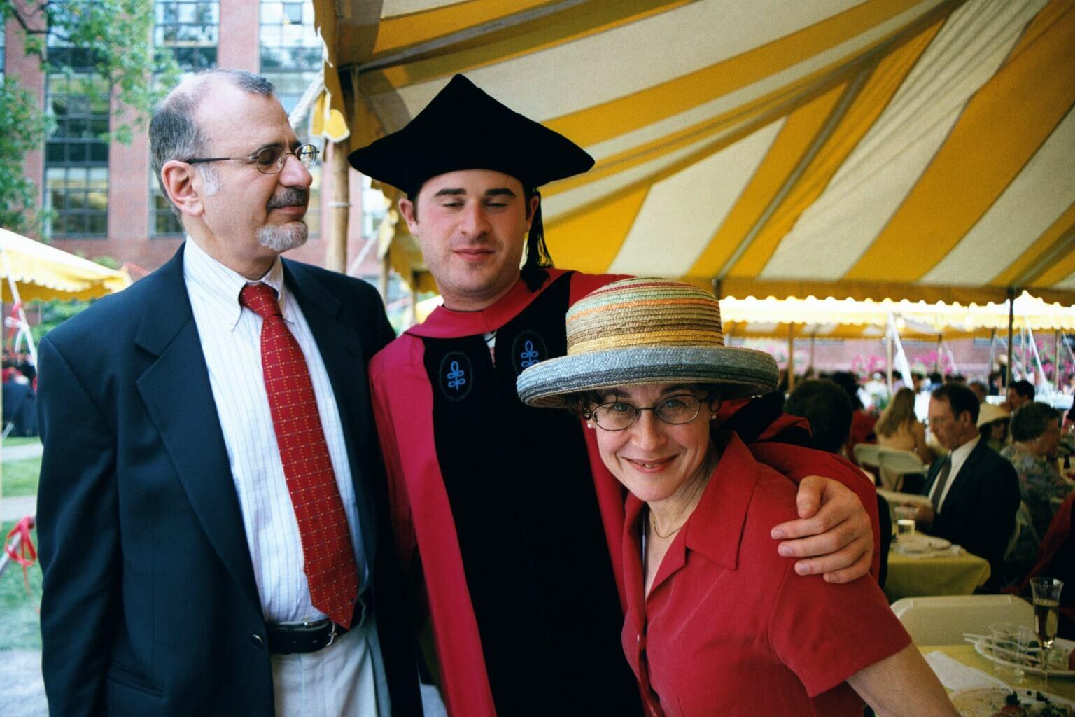 graduation spring 2001