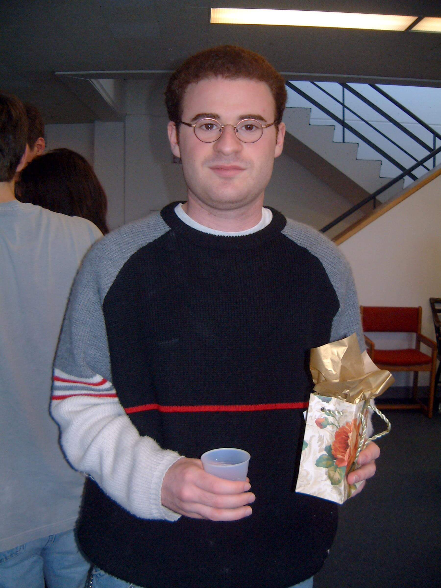 Harvard Math Thesis Party 2001